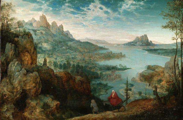 Landscape with the Flight into Egypt, 1563 - Pieter Bruegel the Elder