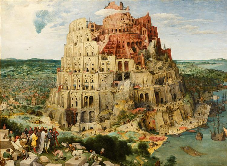 The Tower of Babel, 1563 - Pieter Bruegel the Elder
