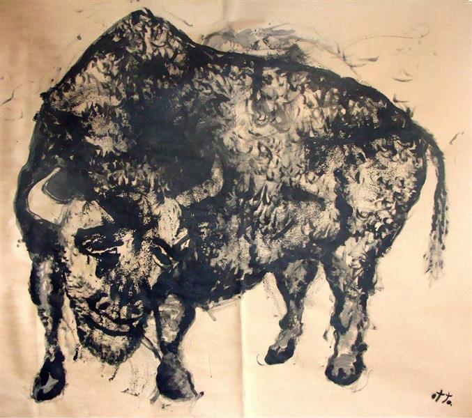 Buffalo (aurochs), 2015 - Otto Constantin