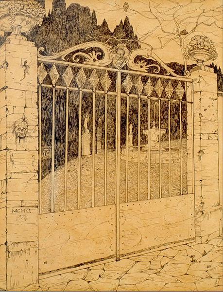 Gateway, 1911 - Roberto Montenegro