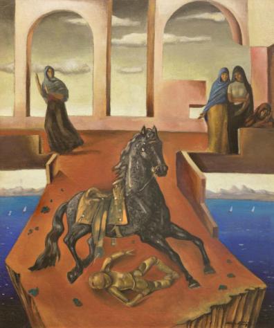Homage to Chirico, c.1944 - Roberto Montenegro