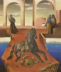 Homage to Chirico - Roberto Montenegro