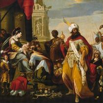 Adoration of the Magi - Georges Lallemand