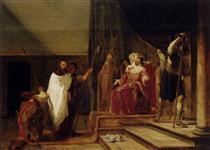 Christ Before Herod Antipas - Nikolaus Knüpfer