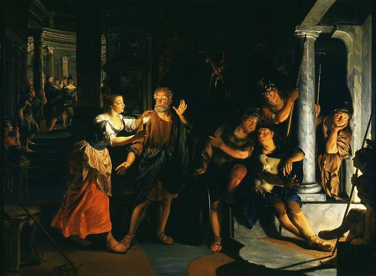 Denial of Saint Peter, 1640 - Nikolaus Knüpfer