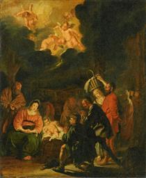 Adoration of the Shepherds - Pieter Codde