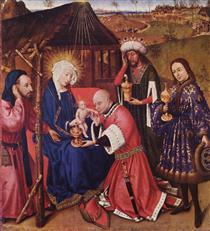 Adoration of the Magi - Jacques Daret