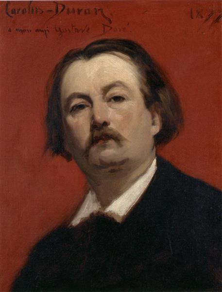 Portrait of Gustave Doré, 1877 - Carolus-Duran