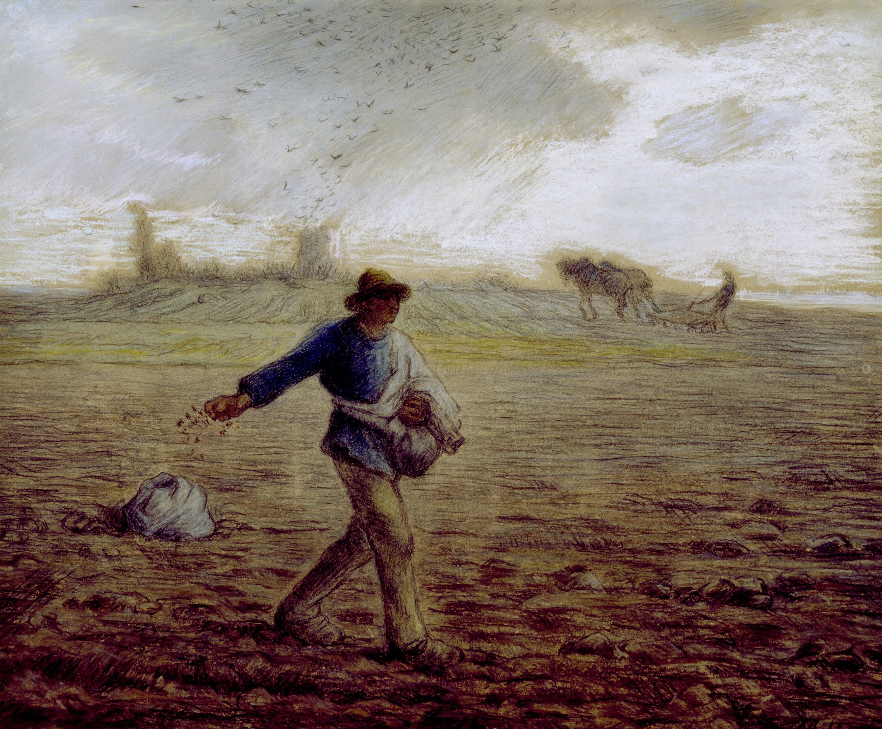 Image result for the sower jean francois millet