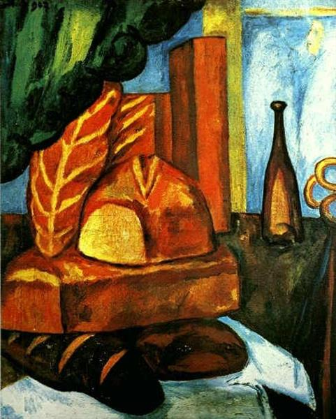 Bread - Mikhail Larionov
