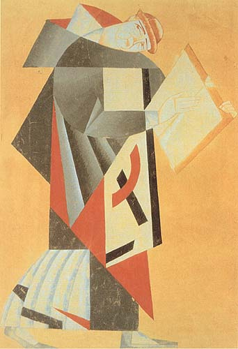 Monk. For the Play 'Mazeppa', 1920 - Vadym Meller