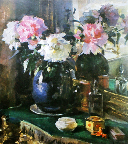 Still Life with Mirror, 1958 - Victor Puzyrkov
