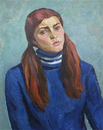 Daughter's Portrait - Viktor Shatalin