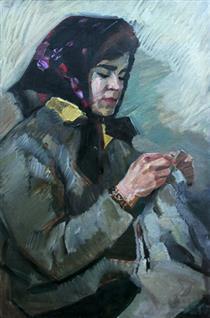 Portrait of the Wife - Viktor Shatalin