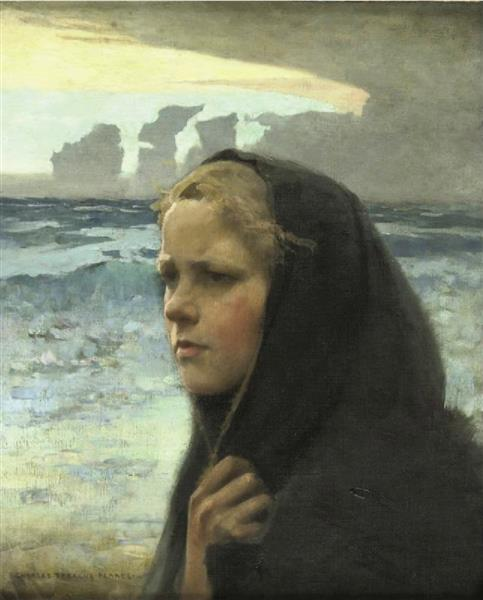 The Squall, 1905 - Charles Sprague Pearce