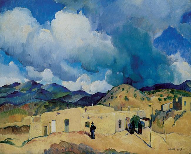Santa Fe Hills, 1917 - Leon Kroll