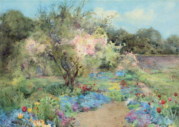 The Garden at Kilmurry - Mildred Anne Butler