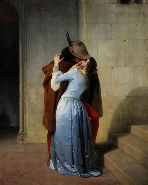 Le Baiser, 1859 - Francesco Hayez