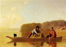The Trappers' Return - George Caleb Bingham