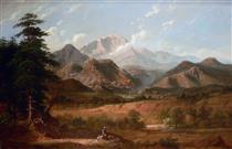 View of Pike's Peak - George Caleb Bingham