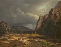 Horse Thief - George Caleb Bingham