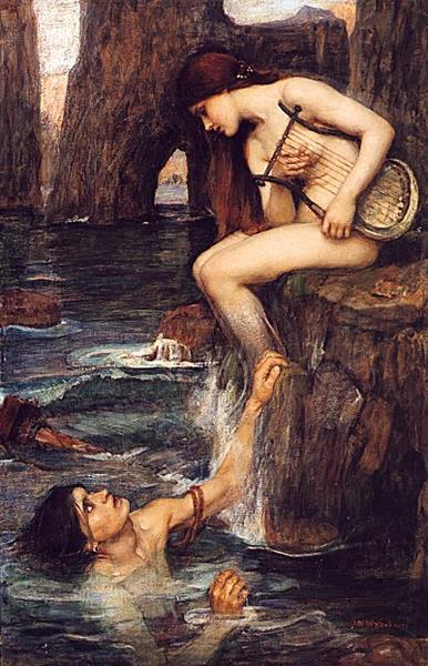 The Siren, 1900 - John William Waterhouse