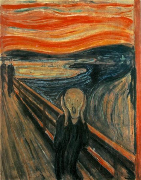 The Scream, 1893 - Edvard Munch - WikiArt.org
