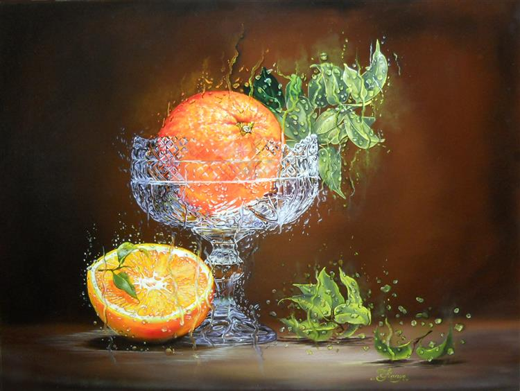 Orange and a Half, 2015 - Lana Kanyo