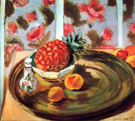 Still Life with Pineapple, 1924 - Henri Matisse