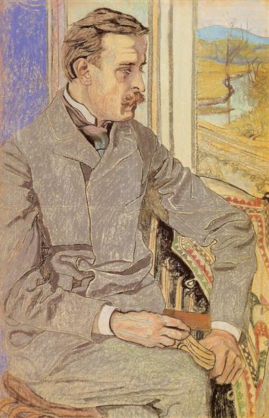 Portret Pagaczewskiego, 1904 - 斯坦尼斯拉夫·维斯皮安斯基