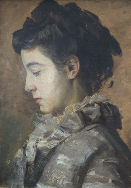 Julia Burnand, 1889 - Eugène Burnand
