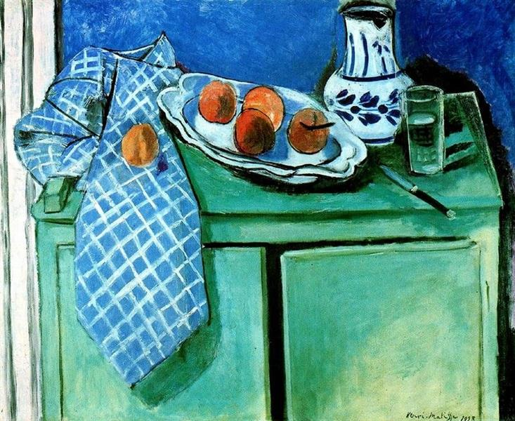 Still Life with Green Sideboard, 1928 - Henri Matisse
