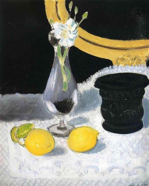 Still Life with Lemons, 1919 - Henri Matisse