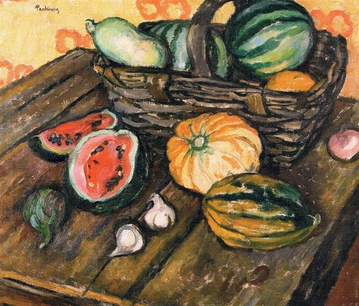 Still Life With Cucumbers, 1909 - Józef Pankiewicz