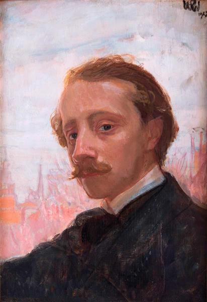 Self-Portrait, 1902 - Wojciech Weiss
