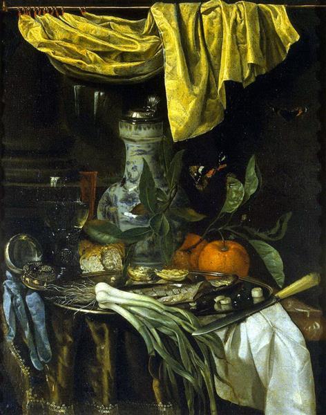 Appetizer, c.1670 - Juriaen van Streeck