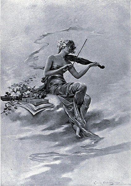 La Musique, 1897 - Louise Abbéma