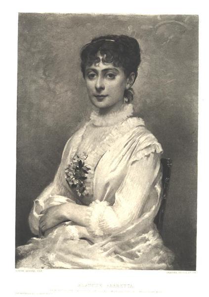 Blanche Barretta, 1880 - Louise Abbéma