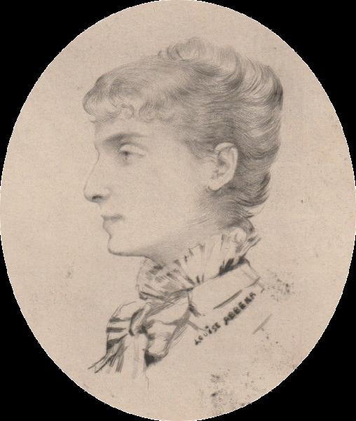 Portrait De Sarah Bernhardt 1880 Louise Abbema Wikiart Org