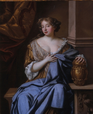 Portrait of Mary Moll Davis (fl.1663-1669), 1675 - Mary Beale