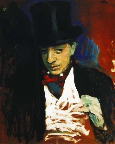 Portrait of Ignacy Pienkowski - Wojciech Weiss