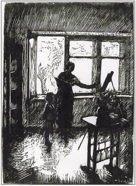 The Painter 1928 - Wojciech Weiss
