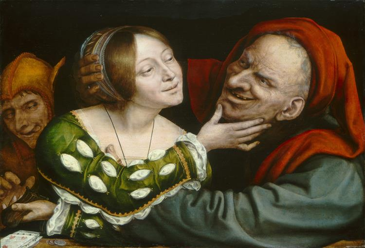 Ill-matched Lovers, 1525 - Quentin Massys
