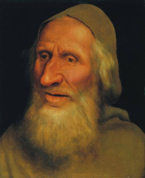 Head of An Old Man, 1525 - Квентин Массейс