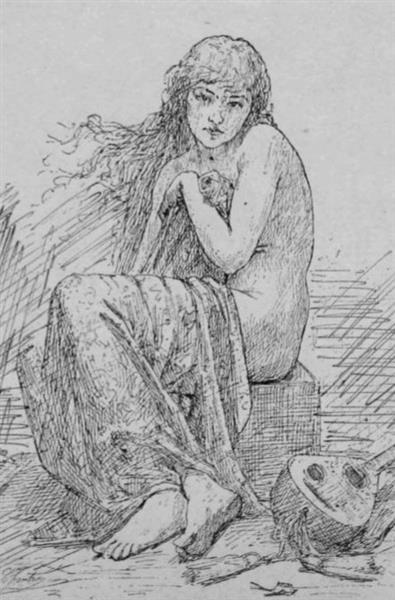 La Cigale - Alexandre-Jacques Chantron