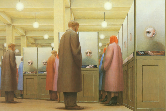 george tooker subway meaning