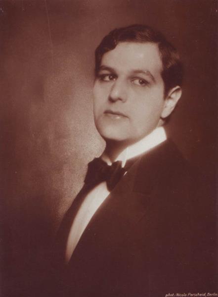 Porträt Des Deutschen Schauspielers Fritz Delius, 1920 - Nicola Perscheid