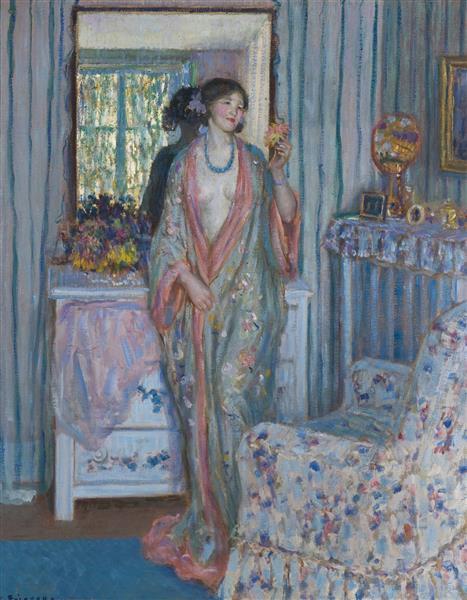 The Robe, 1915 - Frederick Carl Frieseke