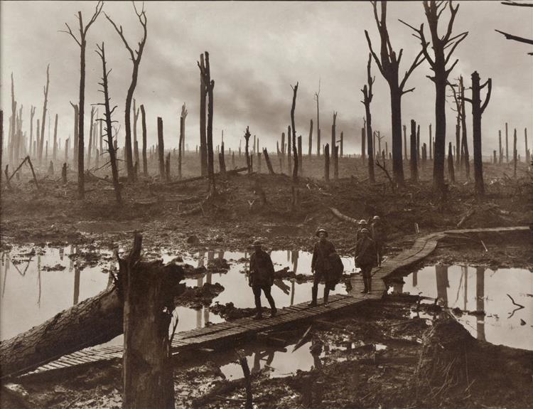 Chateau Wood, 1917 - Frank Hurley