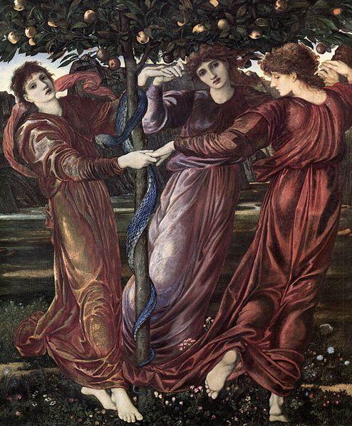 The Garden of the Hesperides, c.1869 - 1873 - Edward Burne-Jones